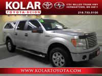 F-150 XLT, 4D SuperCrew, 4WD, ONE Owner Per AUTO CHECK