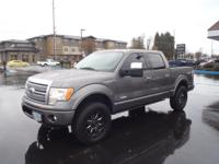 2012 Ford F-150 Brown 4WD. Odometer is 14456 miles