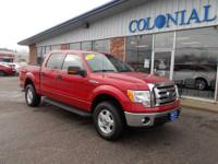 Fantastic one owner 2012 F150 XLT crew cab 4X4! 10,000