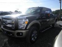 4x4 King Ranch Crew Cab with 6.7 Diesel engine.