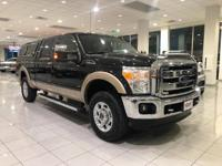 This Ford Super Duty F-250 SRW delivers a Gas/Ethanol