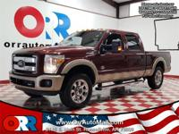 Recent Arrival!  2012 Ford F-250SD Maroon Awards:   *