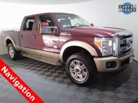 2012 Ford F-250 King Ranch Crew Cab 4X4 with a 6.7L V8