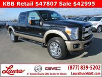 1-Owner New Vehicle Trade! King Ranch 6.7 V8 Power