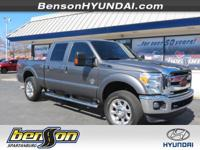 LEATHER. F-250 SuperDuty Lariat, 4D Crew Cab, Power