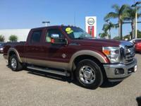 PREMIUM & KEY FEATURES ON THIS 2012 Ford Super Duty