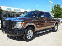 Super Duty King Ranch with navigation, sunroof, Iron