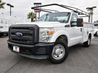 CARFAX One-Owner. Clean CARFAX. White 2012 Ford F-250SD