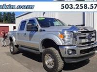Clean CarFax, One Owner, LIFTED, 4D Crew Cab. The