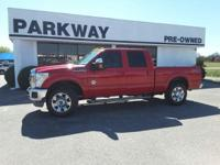 Options:  2012 Ford F-250 |Miles: 69566Color: Red|Stock