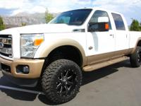 2012 Ford F-350 King Ranch  POWERSTROKE Diesel 4x4 KING