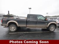 Clean CARFAX. Black 2012 Ford F-350SD King Ranch 4D
