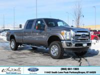 This Ford Super Duty F-350 SRW delivers a Turbocharged