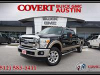 Powerful 2012 Ford F-350 Super Duty Lariat Edition Crew