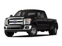 2012 Ford F-350SD. 4WD, ABS brakes, and Traction
