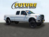 Look at this 2012 Ford Super Duty F-350 SRW Lariat. Its