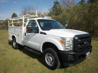 Options:  2012 Ford F-350 4X4 Service Truck 2Dr Service