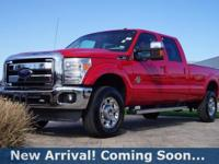 2012 Ford F-350SD Lariat in Autumn Red, 4WD, This