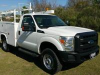 Options:  2012 Ford F350 Xl 4X4 Service Truck 2Dr Reg