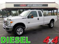 Grand and graceful, this 2012 Ford Super Duty F-350 SRW
