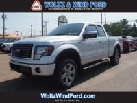 "4WD SuperCab 145"" FX4 - HEATED / COOLED LEATHER SEATING"