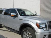 CARFAX One-Owner. Clean CARFAX. Silver 2012 Ford F-150