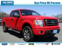 5.0L V8 FFV, 6-Speed Automatic Electronic, 4WD, Red,