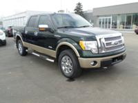 Green Gem Metallic! 2012 Ford F-150 Lariat is the truck