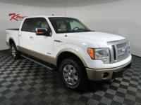 Heated Leather Seats! Sunroof! This 2012 FORD F-150
