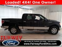 Just Reduced***2012 Ford F-150 Crew Cab 4WD***4X4 Shift
