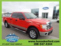 New Price! Clean CARFAX. F-150 XLT, 4WD, ABS brakes,