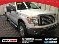2012 Ford F-150 XLT in Silver, ABS brakes, Compass,