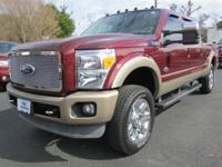 Autumn Red 2012 Ford F-250SD King Ranch 4WD TorqShift
