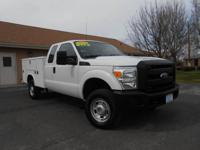 2012 FORD F350 SUPERCAB 4X4 UTILITY TRUCK! SUPER CLEAN,