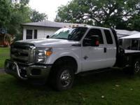 2012 Ford F-350. 13000 miles- 6.2 liter V8 cylinder-