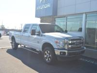 DIESEL! 4X4! 2012 Ford F-350SD Lariat CARFAX One-Owner.