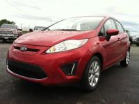 Land a bargain on this 2012 Ford Fiesta SE before