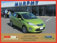 This outstanding example of a 2012 Ford Fiesta SEL is