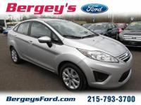 2012 Ford Fiesta SE Sedan 4DExt. Color: SilverStock: