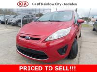 New Price! 2012 Ford Fiesta SE Race Red Odometer is