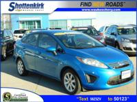 Options:  2012 Ford Fiesta Se|Se 4Dr