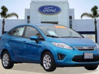 Options:  2012 Ford Fiesta Se|Blue/|V4 1.6L