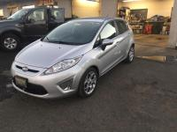 Silver 2012 Ford Fiesta SES FWD 6-Speed Automatic with