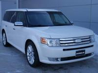 Options:  2012 Ford Flex Limited|White Suede/Charcoal