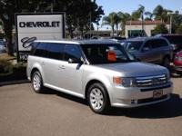 Options:  2012 Ford Flex 4Dr Se Fwd Used|Silver