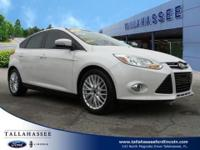 Solid and stately, this 2012 Ford Focus practically