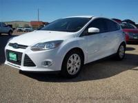 This is a super clean 2012 Focus SE Hatchback. A