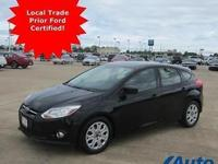 *** LOCAL TRADE, PRIOR FORD FACTORY CERTIFIED PRE-OWNED