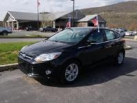 Introducing the stylish, fun to drive 2012 Ford Focus