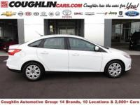 This Oxford White, 2012 Ford Focus is in impeccable